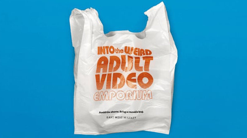 a hilarious plastic bag