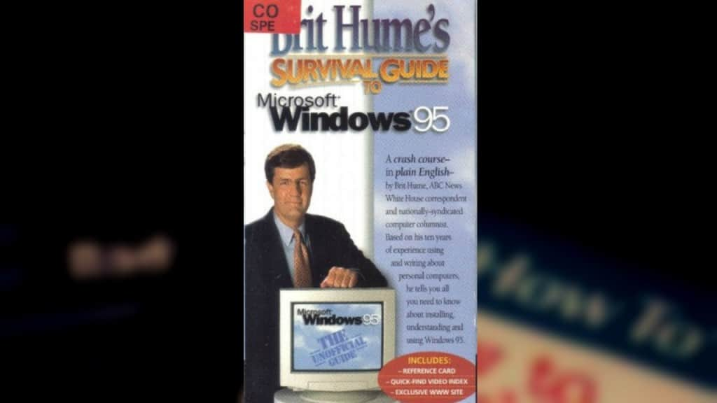 Survival Guide To Microsoft Windows 95  Was A Campy Lifesaver
