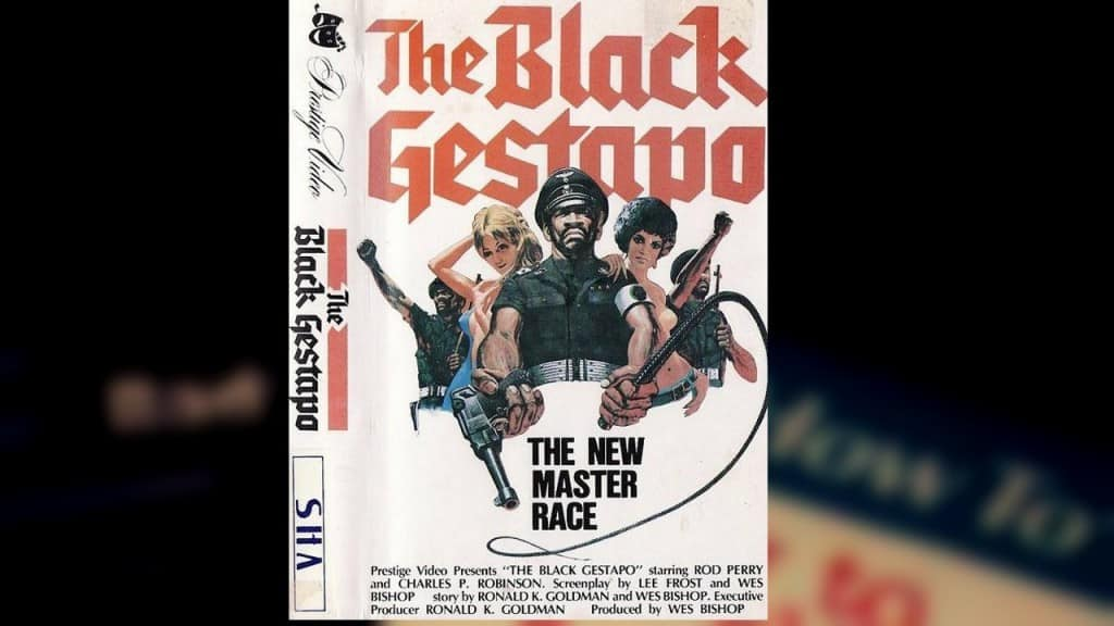 The Black Gestapo's Cover Has A Lot Going On