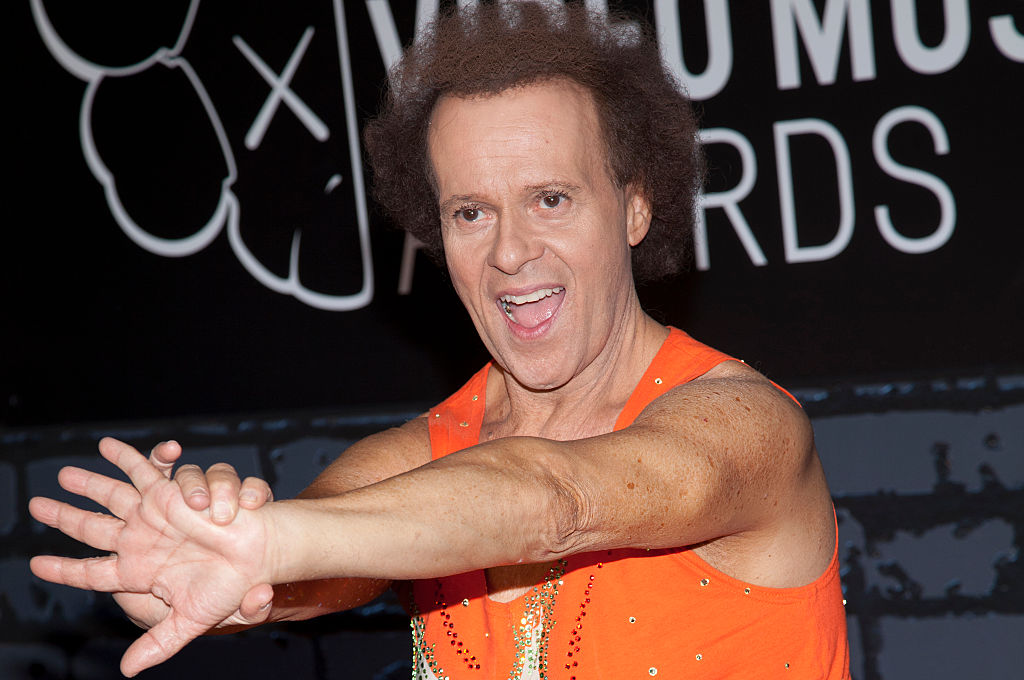 You Can't But Laugh At Tonin' Dowtown With Richard Simmons