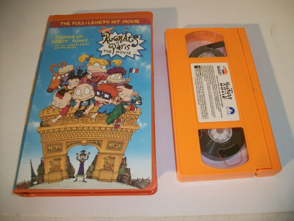 Rugrats in Paris Had The Coveted Orange VHS