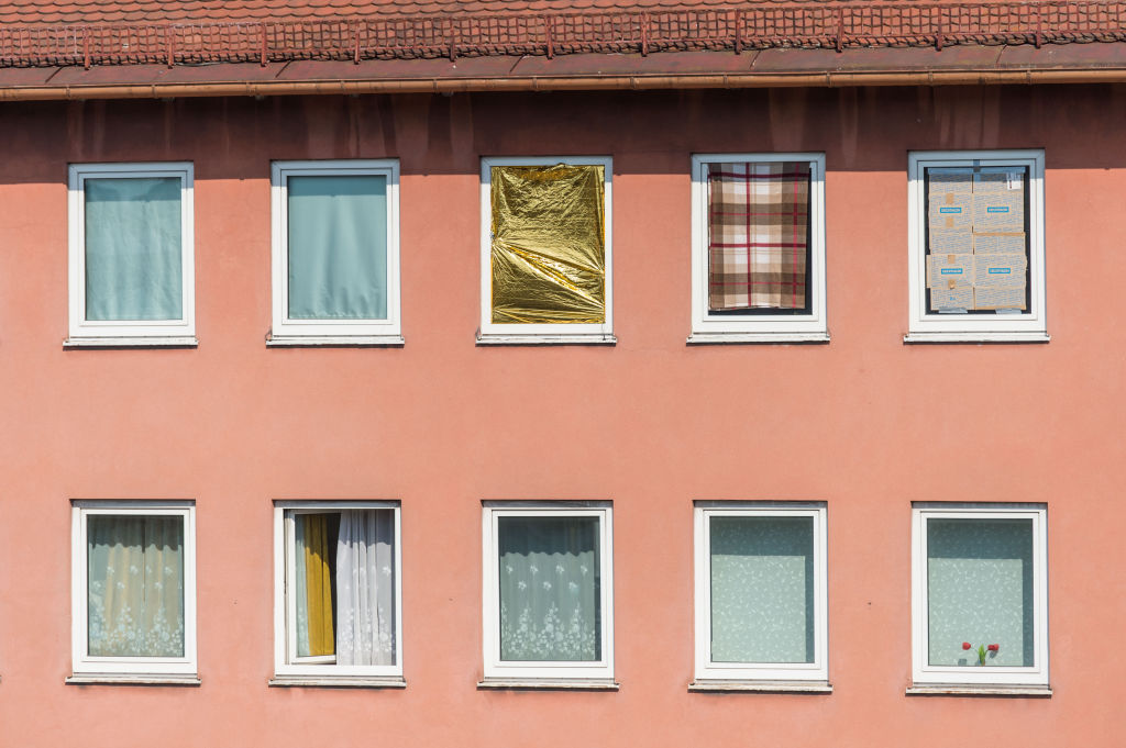 Put Curtains In The Windows Of Second Floor Rooms