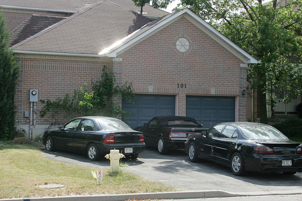 Too Many Cars In The Driveway