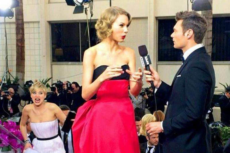 J-Law Going In For The T-Swift K-O