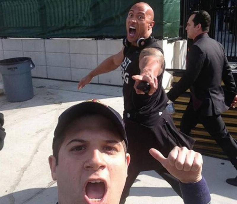 Hopefully, The Rock Didn't Call This Fan A Jabroni!