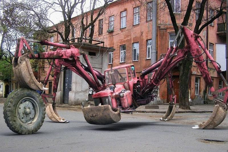 Art out of a tractor