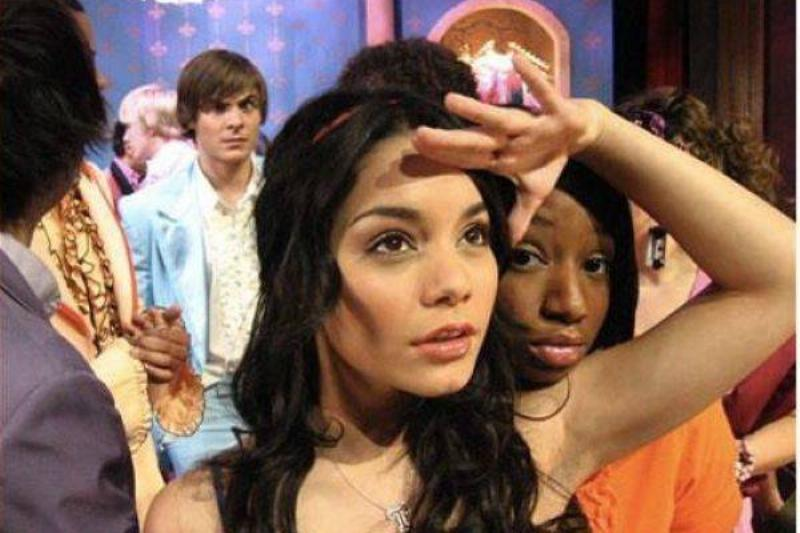 High School Musical: The Face In The Background