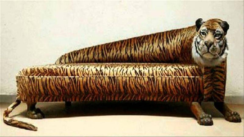 A Couch That Could Eat You