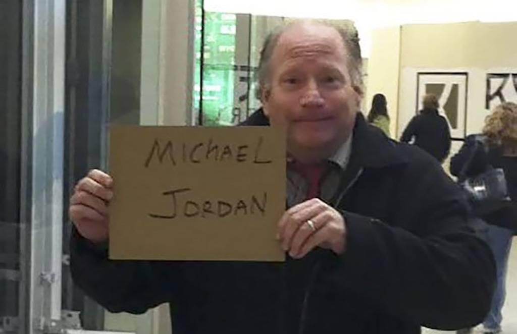 Michael Jordan Funny Airport Sign