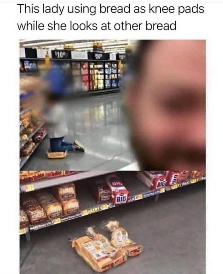 knee shopping for her