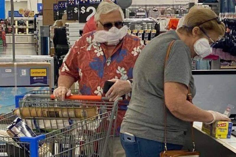 walmart masks that are different