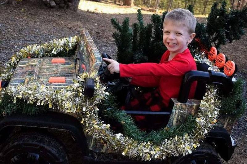 Starting The Redneck Christmas Traditions Young