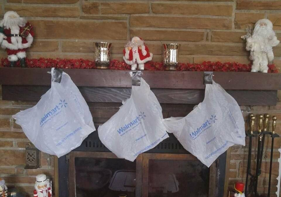 The Stockings Were Hung On The Chimney With Care