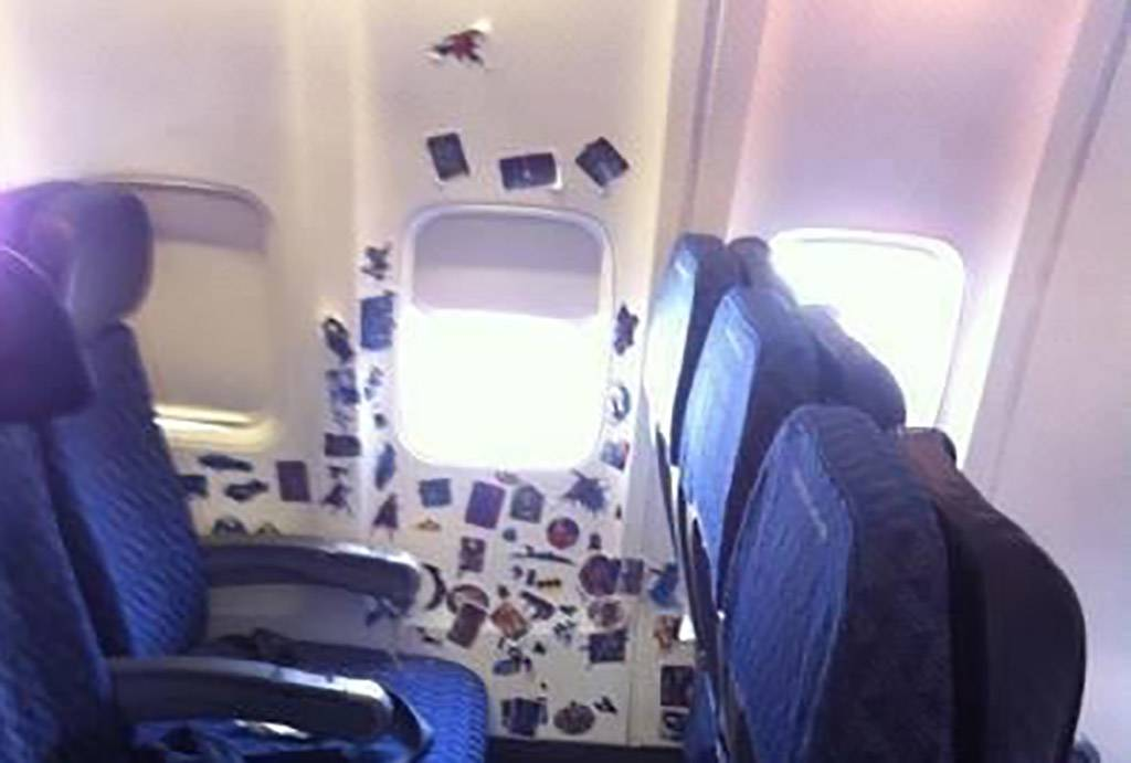 Stickers on a plane