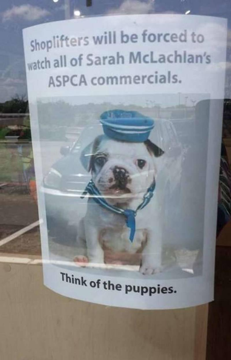 Think of the Puppies