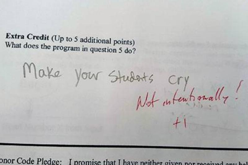 At Least They Got A +1 For Humor