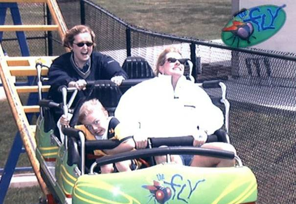 Hey, Even Little Roller Coaster Can Be Scary