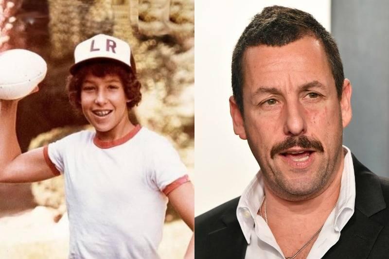 adam sandler then and now