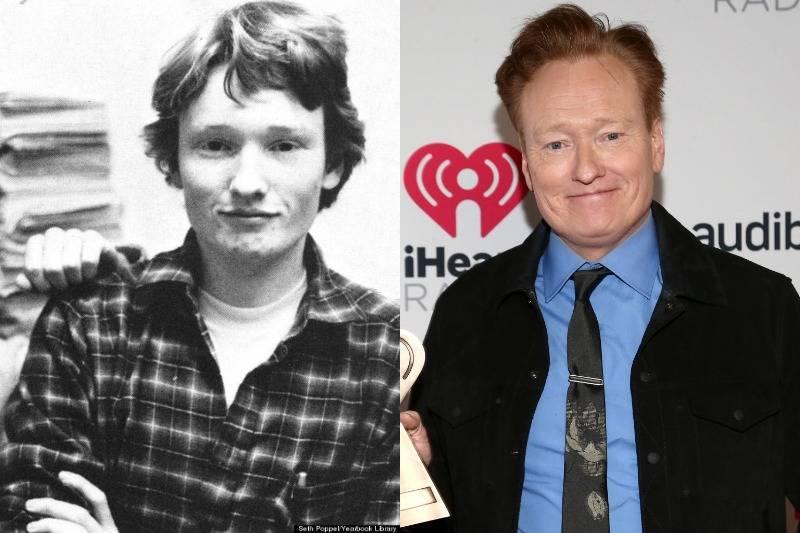 conan o'brien then and now