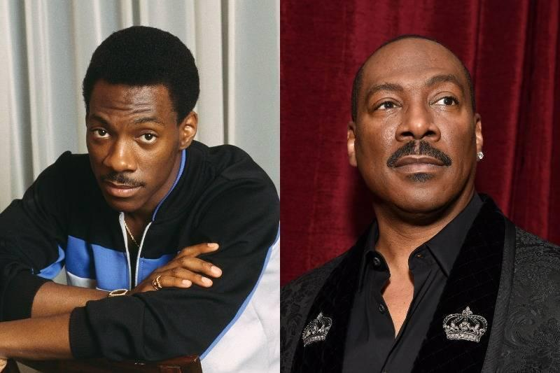 eddie murphy then and now