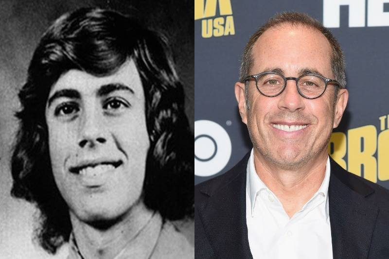 jerry seinfeld then and now