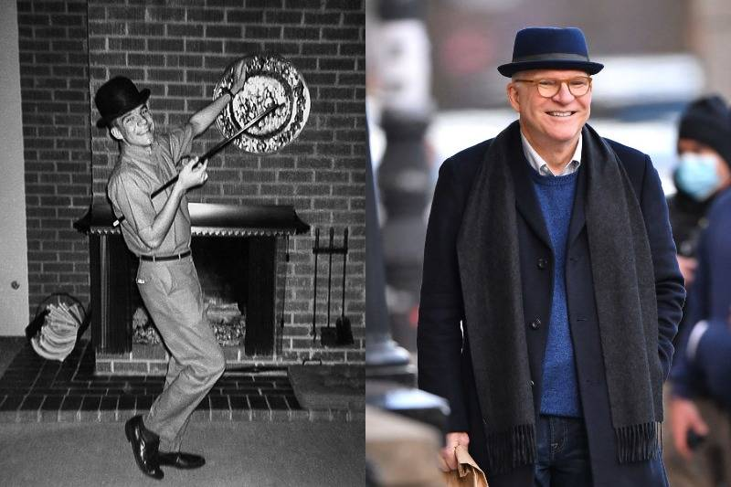 steve martin then and now photo