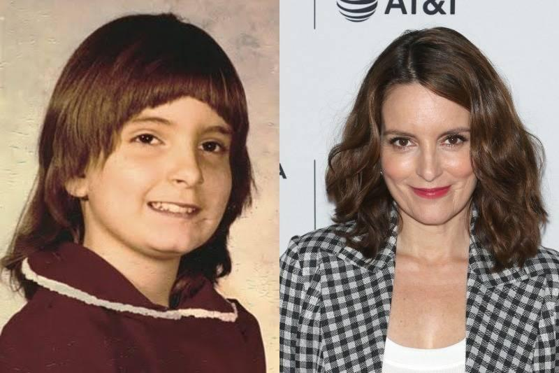 tina fey then and now