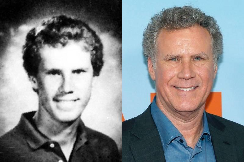 will ferrell then and now
