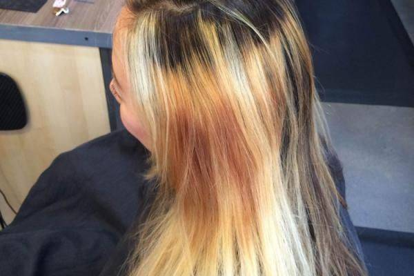 HOW-TO_ Rich Red Hair Color with Golden Caramel Highlights